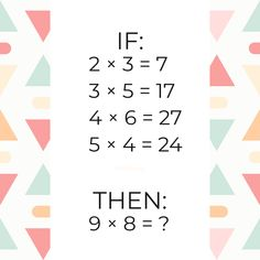 Free math problem solver answers your algebra homework questions with step-by-step explanations. Math Problem Solver, Algebra Problems, Free Math, Brain Teasers, Maths, Did You Know, Puzzles, This Or That Questions, Beautiful