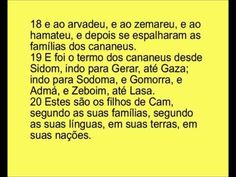Bíblia em dvd Gênesis cap 10