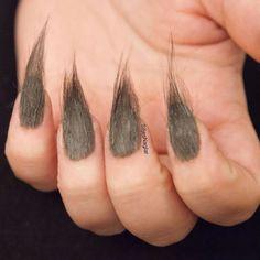 Furry Nails (uñas con plumas o pelos) la tendencia de uñas del momento | Decoración de Uñas - Manicura y Nail Art
