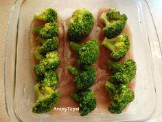 AranyTepsi: Brokkolis csirkekocka