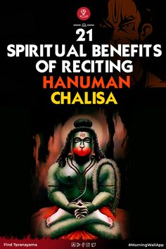 21 Powerful benefits of Hanuman Chalisa Who does not know about Hanuman Chalisa dedicated to Lord Hanuman, This Chalisa composed by Goswami Tulsidas has the miraculous power that takes away our sufferings. But do you know what is the secret benefits of this miracle? Hanuman Chalisa Benefits, Motivation Movies, Chakra Affirmations, Hindi Words, Why Read, What Is The Secret, Meditation Benefits, Spirituality, How Are You Feeling