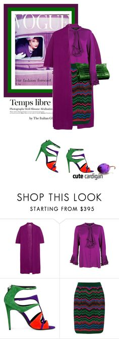 """""""The Italian knitwear"""" by theitalianglam ❤ liked on Polyvore featuring Hedi Slimane, Etro, Gucci, Pierre Hardy, M Missoni and Lautrec"""