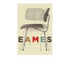Affiche CHARLES EAMES III - 30*42