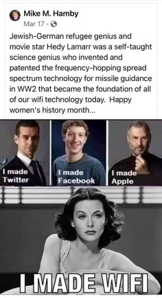 Misandry, Hedy Lamarr, Patriarchy, Happy Women, Teaching Science, Steve Jobs, Women In History, Girl Power, Rage
