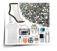 """""""CLEARLY"""" by anna-pensky on Polyvore featuring Dot & Bo, Olive + Oak, Alexander McQueen, Butter London, Bobbi Brown Cosmetics, Laser Kitten, PINTRILL, Baby-G, myface cosmetics and Urban Decay"""