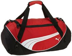 SMART DUFFEL BAG: PUMA Men's Teamsport Formation 20 Inch Duffel Bag, Black, One Size: Sports & Outdoors
