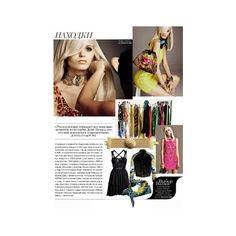 Versace for H Preview On Vogue Russia - Fashion | Popbee ❤ liked on Polyvore