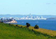 Auckland from Waiheke Island
