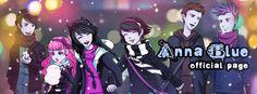 Anna Blue, People Art, Scream, Amazing Art, Dawn, Cool Pictures, Fan Art, Fun Stuff, Anime