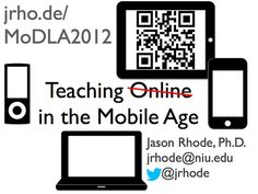 Teaching Online in the Mobile Age