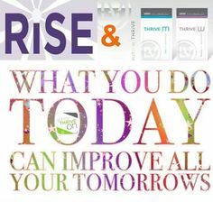 """An all natural, life changing product. Truly amazing all the benefits. Thrive is that """"miracle pill"""""""