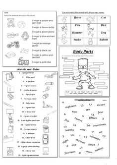 This worksheet provides a clear, quick-reference resource