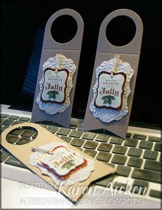 Wine Bottle Neck Gift Tag  Template By Traceymay  Cards And