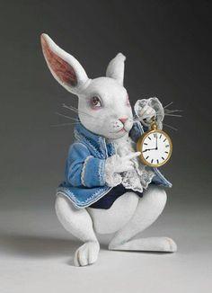 White Rabbit Toner doll