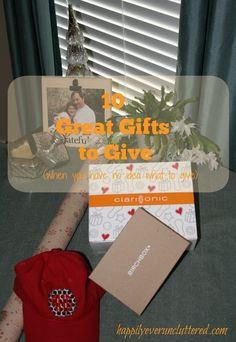 Here are some great gift ideas for the whole family.