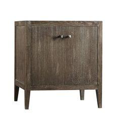 Neo-Classic Sophie Wood Cabinet Vintage Café Vanity Base