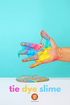 A summer themed slime activity for your kids using Arm Science Projects For Kids, Science Activities For Kids, Steam Activities, Stem Science, Arm And Hammer Baking Soda, Summer Crafts, Kids Crafts, Curious Kids, How To Make Slime