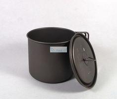 MY Titanium Mug Cup 550ml lid Travel hiking camping fishing outdoor trek picnic #MY