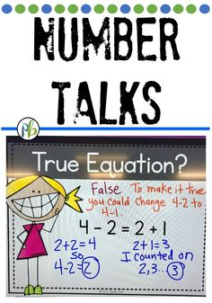 Number Talks guaranteed to solidify your first graders' understanding of the equal sign. First Grade Lessons, First Grade Activities, Teaching First Grade, Second Grade Math, Math Lessons, Math Fact Practice, Math Talk, Math Pages, Math Fact Fluency