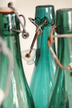 Have always loved this bottle green/blue color
