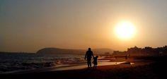 Morning walk in RK Beach, Vizag
