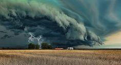 Storm Cell, Grand Prairie, Texas photo via laura...