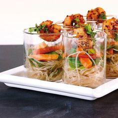 Die 12 Besten Bilder Von Essen Im Glas Finger Food Recipes Finger