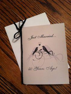 50th Wedding Anniversary Invites