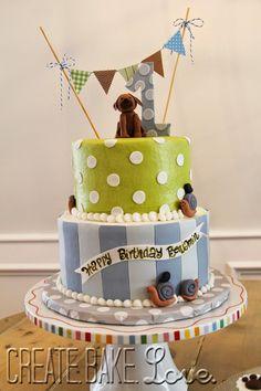 Create. Bake. Love.: Snips, Snails, & Puppy Dog Tails Birthday!