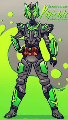 Kamen Rider Payback Nuclear Form -- Commission by MeensArts