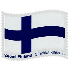 Postimerkki: Siniristilippu | Suomen postimerkit Astros Logo, Finland, Team Logo, Stamps, Logos, Paper, Seals, Logo, Postage Stamps