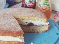 Victoria Sandwich Sponge Cake Revisited!