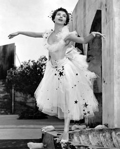 Leslie Caron in An American In Paris- this was one of the many inspirations I had on hand when choosing my wedding gown
