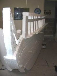 Hot Wire Foam Factory - Pirate Ship Stage Prop