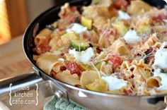 This is one of our favorite meals this summer.  It's super easy to make and we all love it.