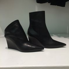 Ankle boots by @balenciagaparis #Balenciaga #AnkleBoots #leather #FolliFollie #FW14collection