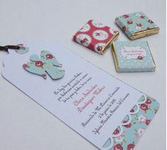 Recordatorios y chocolatinas Primera Comunión - First Communion reminders and chocolate bars