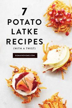 The best new Hanukkah-friendly recipes for potato latkes. Let RelishCaterers.com cater your next big event!