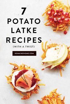 The best new Hanukkah-friendly recipes for potato latkes