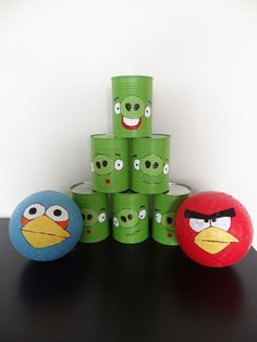 Mama Thompson: Angry Birds Birthday Party