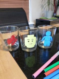 Glasses for a lego fan