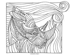 Art by LostBumblebee Graphics Print, Color, and Post! Images for personal coloring use only. www.lostbumblebee.blogspot.com Rhino Coloring pages colouring adult detailed advanced printable Kleuren voor volwassenen coloriage pour adulte anti-stress kleurplaat voor volwassenen Line Art Black and White Abstract Doodle Zentangle Paisley https://www.facebook.com/photo.php?fbid=1479435025685683