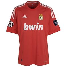 Camiseta roja Real Madrid 2011/2012