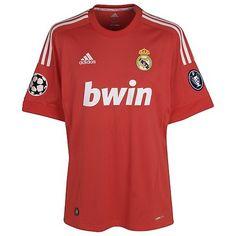 Camiseta roja Real Madrid 2011/2012