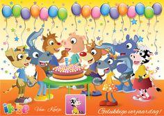 Wens je vrienden en familie een Gelukkige Verjaardag dankzij dit leuke kaartje met jouw foto en naam!  Als je wilt, kan je het met 1 klik op de knop op je facebook wall posten.  Haal jouw gratis verjaardagskaartje hier op: http://spelletjes.ik.be/kaartje/verjaardag.html .
