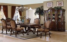 Classic Dining Room Furniture Chairs And Tables ~ http://lanewstalk.com/making-the-reupholster-for-your-own-a-dining-room-chair/