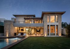 Architecture | Architect | House | Backyard | Pool | Pozas Arquitectos | Home Style
