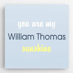 Personalized Girls Room Sign, You Are My Sunshine Kids Room Sign, Girls Room Decor, Kids Wall Decor Personalised Gifts Home, Personalized Pillows, Personalized Signs, Kids Canvas, Blue Canvas, Canvas Art, Kids Wall Decor, Art Wall Kids, Wall Art