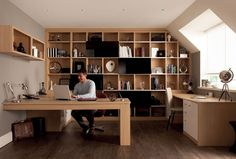 Amazing home office - design small office space office desks ideas office tables furniture best place to buy home office furniture Corporate Office Design, Modern Office Design, Office Interior Design, Office Interiors, Office Designs, Mesa Home Office, Home Office Setup, Home Office Space, Home Office Desks