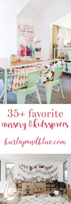 Nursery ideas | Kids rooms | Kids Decor | Inspiration for Nurseries & Playrooms